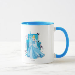 Combo Mug with Mixed Media Cinderella design
