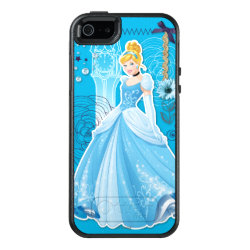 OtterBox Symmetry iPhone SE/5/5s Case with Mixed Media Cinderella design