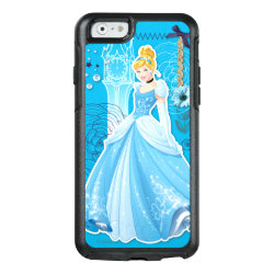 OtterBox Symmetry iPhone 6/6s Case with Mixed Media Cinderella design