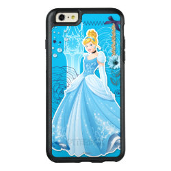 OtterBox Symmetry iPhone 6/6s Plus Case with Mixed Media Cinderella design