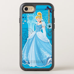 OtterBox Apple iPhone 7 Symmetry Case with Mixed Media Cinderella design
