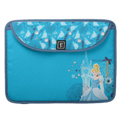Macbook Pro 15' Flap Sleeve with Mixed Media Cinderella design