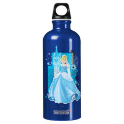 SIGG Traveller Water Bottle (0.6L) with Mixed Media Cinderella design