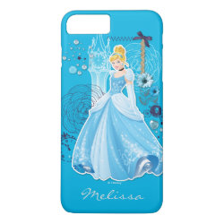 Case-Mate Tough iPhone 7 Plus Case with Mixed Media Cinderella design