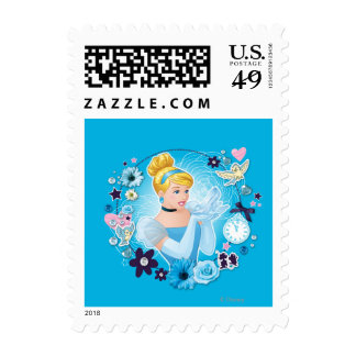 Cinderella - Gracious as a True Princess Postage Stamps
