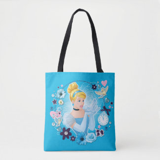 Cinderella - Gracious as a True Princess Tote Bag