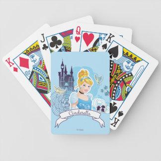 Cinderella - Gracious Heart Bicycle Playing Cards