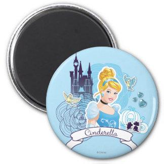 Cinderella - Gracious Heart Fridge Magnet