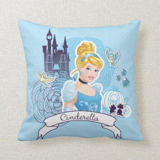 Cinderella - Gracious Heart Throw Pillow