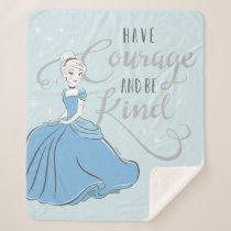 Cinderella | Have Courage Sherpa Blanket