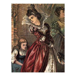 Cinderella Helping her Step-Sisters Letterhead