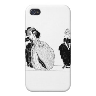 Cinderella & Her Snooty Stepsisters iPhone 4/4S Case