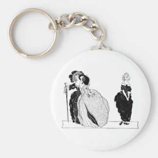 Cinderella & Her Snooty Stepsisters Keychain