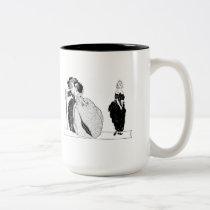 Cinderella & Her Snooty Stepsisters Two-Tone Coffee Mug