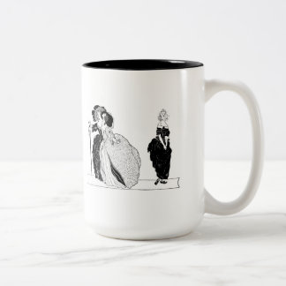Cinderella & Her Snooty Stepsisters Two-Tone Coffee Mug