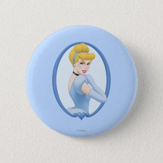 Cinderella in Frame Pinback Button