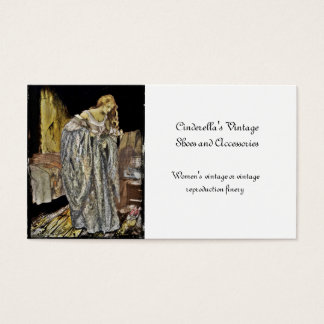 Cinderella in the Attic Business Card