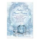 Cinderella Invitation, Cinderella Sweet Sixteen Card