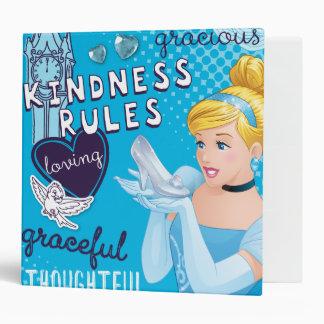 Cinderella - Kindness Rules 3 Ring Binder