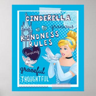 Cinderella - Kindness Rules Poster