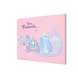 Cinderella Leaving the Ball Canvas Print
