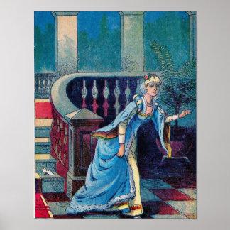 Cinderella Loses Her Slipper Poster