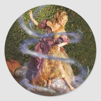 Cinderella_LycanProductions Classic Round Sticker