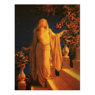 Cinderella, Maxfield Parrish Postcard