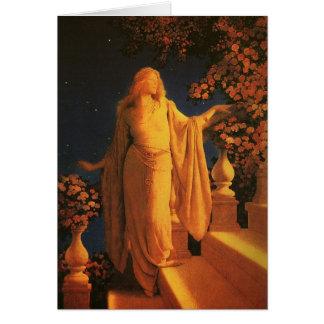 Cinderella, Maxfield Parrish Vintage Fine Art Card