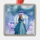 Cinderella Metal Ornament