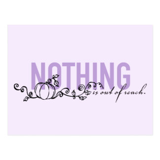 Cinderella | Nothing Is Out Of Reach Postcard