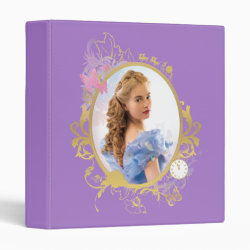 Avery Signature 1' Binder with Iconic: Cinderella Framed design
