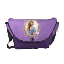 Rickshaw Medium Zero Messenger Bag with Iconic: Cinderella Framed design