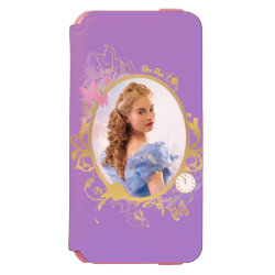 Incipio Watson™ iPhone 6 Wallet Case with Iconic: Cinderella Framed design