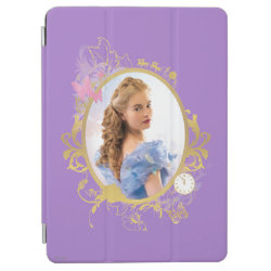 iPad Air Cover with Iconic: Cinderella Framed design