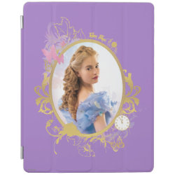 iPad 2/3/4 Cover with Iconic: Cinderella Framed design