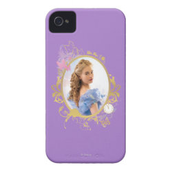 Case-Mate iPhone 4 Barely There Universal Case with Iconic: Cinderella Framed design