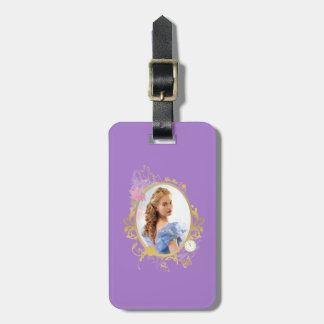 Cinderella Ornately Framed Luggage Tag