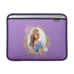 Macbook Air Sleeve with Iconic: Cinderella Framed design