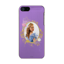 Incipio Feather Shine iPhone 5/5s Case with Iconic: Cinderella Framed design