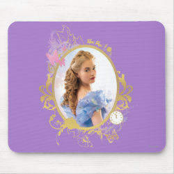 Mousepad with Iconic: Cinderella Framed design