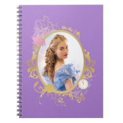 Photo Notebook (6.5' x 8.75', 80 Pages B&W) with Iconic: Cinderella Framed design