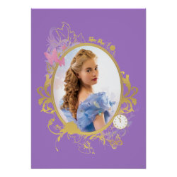 Matte Poster with Iconic: Cinderella Framed design