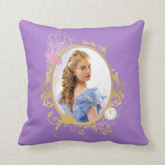 Cinderella Ornately Framed Throw Pillow