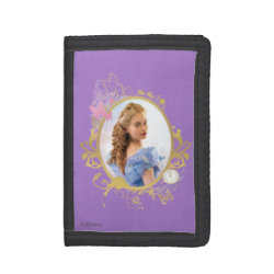 TriFold Nylon Wallet with Iconic: Cinderella Framed design