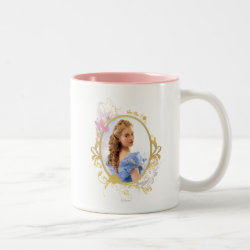 Two-Tone Mug with Iconic: Cinderella Framed design