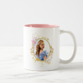 Cinderella Ornately Framed Two-Tone Coffee Mug