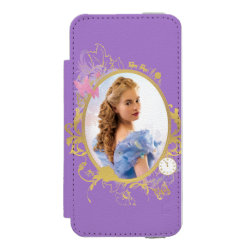 Incipio Watson™ iPhone 5/5s Wallet Case with Iconic: Cinderella Framed design