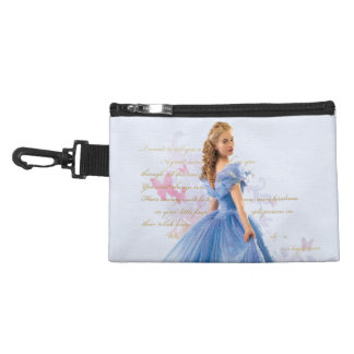 Cinderella Photo With Letter Accessory Bag