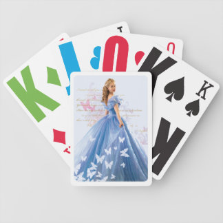 Cinderella Photo With Letter Bicycle Playing Cards
